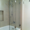 bi fold sliding shower | Advanced Glass Pro