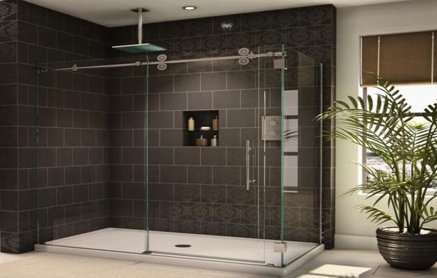 Sliding Frameless shower Doors Enclosures|Advanced Glass Expert