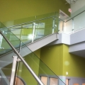base shoe glass railing system | Advanced Glass Pro