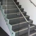 frameless glass and stair system | advanced glass pro