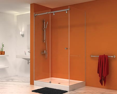 shower doors sliding