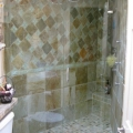 inline frameless shower doors | Advanced Glass Pro