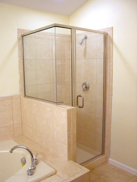 shower doors semi frameless